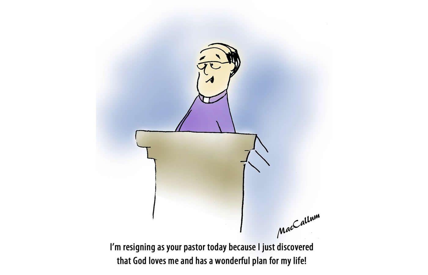 Pastor Resigning
